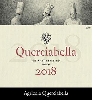 Querciabella Chianti Classico 2017 etichetta